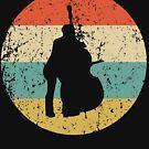 Cello Vintage Retro Music von ReallyAwesome