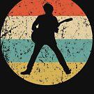 Guitar Vintage Retro Music von ReallyAwesome
