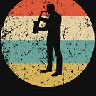 Saxophone Vintage Retro Music von ReallyAwesome