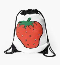 Superfruit Strawberry Merch Drawstring Bag