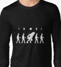 werewolf  timelapse Long Sleeve T-Shirt