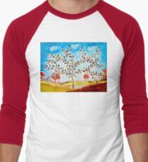 Autumn tree Men's Baseball ¾ T-Shirt
