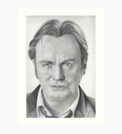 Philip Glenister aka Gene Hunt Art Print