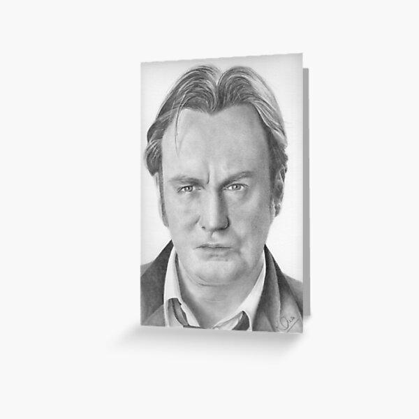 Philip Glenister aka Gene Hunt Greeting Card