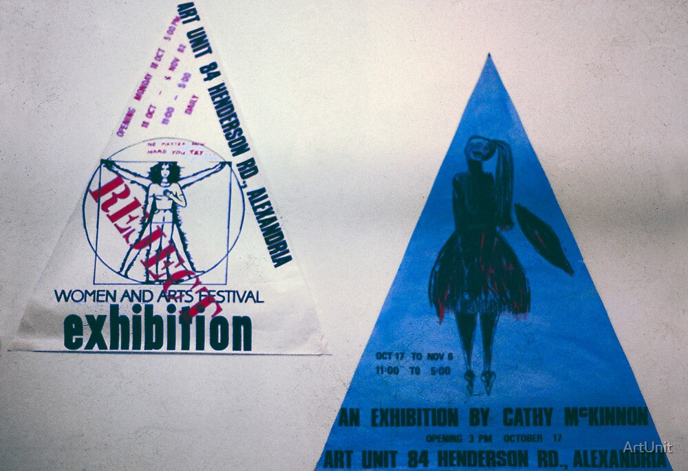two small triad posters by ArtUnit