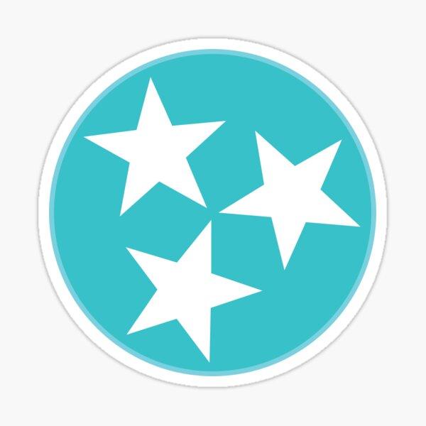 Tennessee TriStar - Blue Waves Sticker