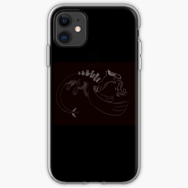 sketchy lugia iPhone Soft Case