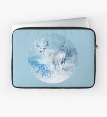Merry Christmas From the North Pole, deer t-shirt Laptop Sleeve