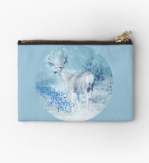 Merry Christmas From the North Pole, deer t-shirt Zipper Pouch