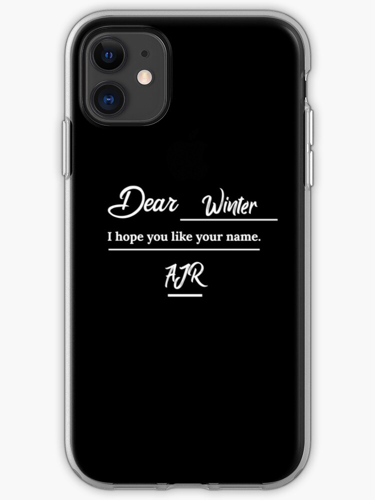 Ajr Dear Winter Letter Iphone Case Cover By Usernate Redbubble Get access to pro version of dear winter! ajr dear winter letter iphone case cover by usernate redbubble