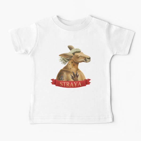 Straya Bogan Kangaroo Baby T-Shirt