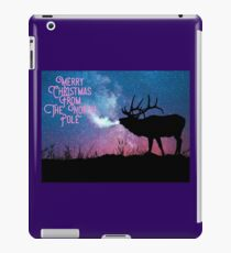 Merry Christmas from The North Pole iPad Case/Skin
