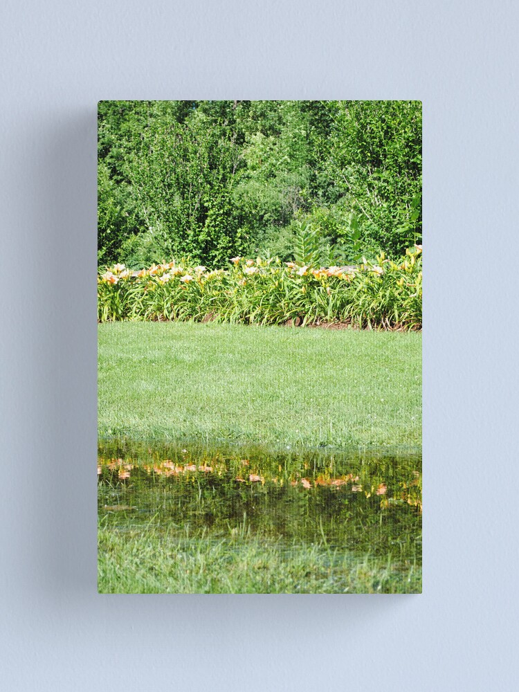 Alternate view of Reflecting Pool Canvas Print