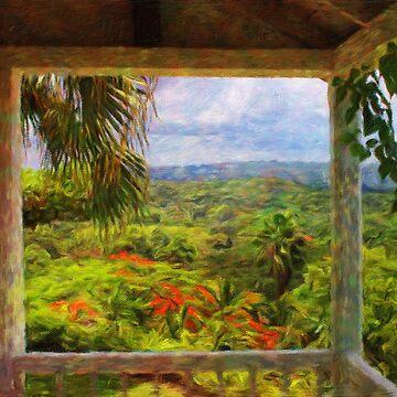 Jamaican Mountains by TelestaiPix