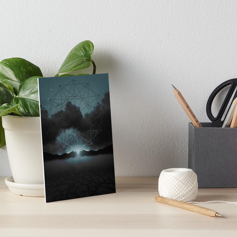 Beyond the Fog Lies Clarity Art Board Print