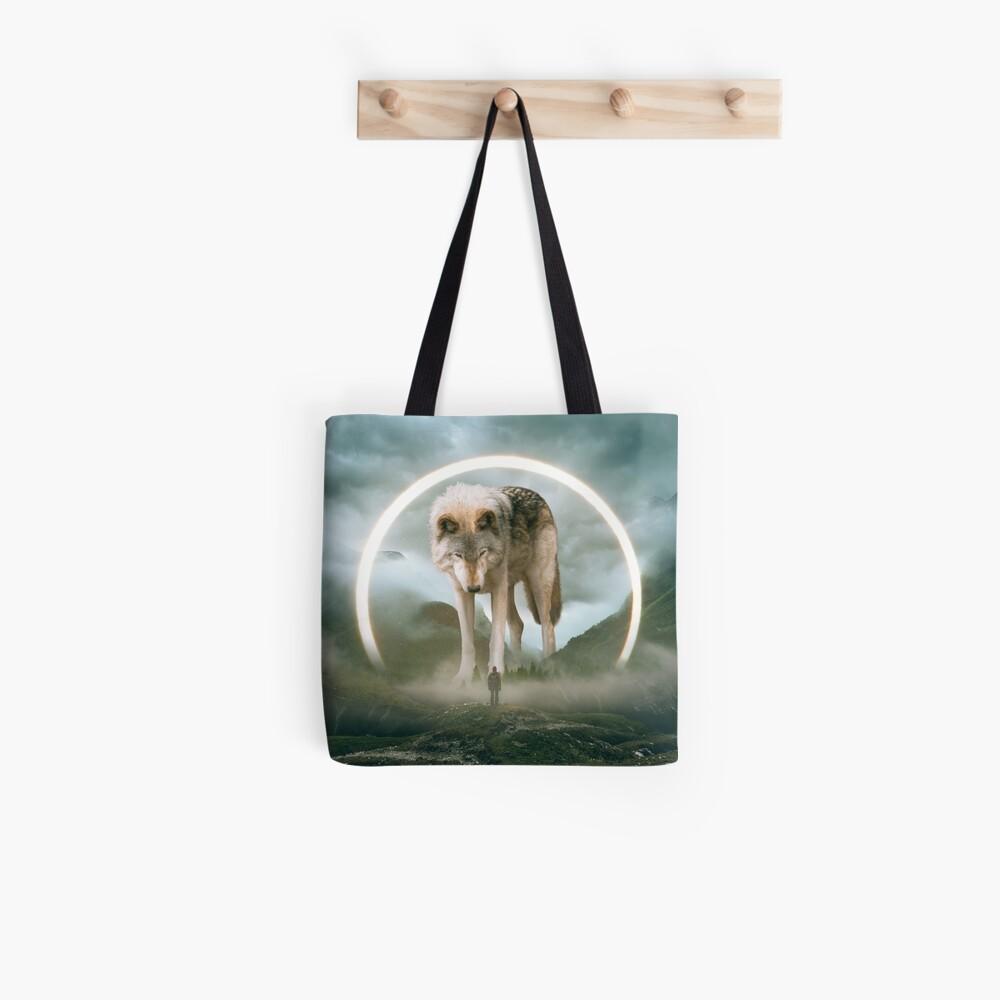 aegis | wolf Tote Bag