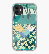 Field of Flowers (Adventure Time) iPhone Case