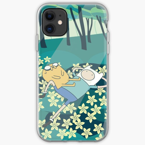 Field of Flowers (Adventure Time) iPhone Soft Case