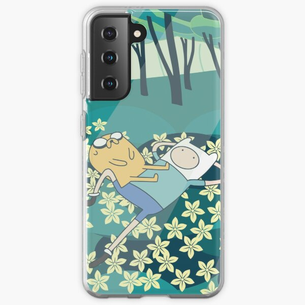 Field of Flowers (Adventure Time) Samsung Galaxy Soft Case