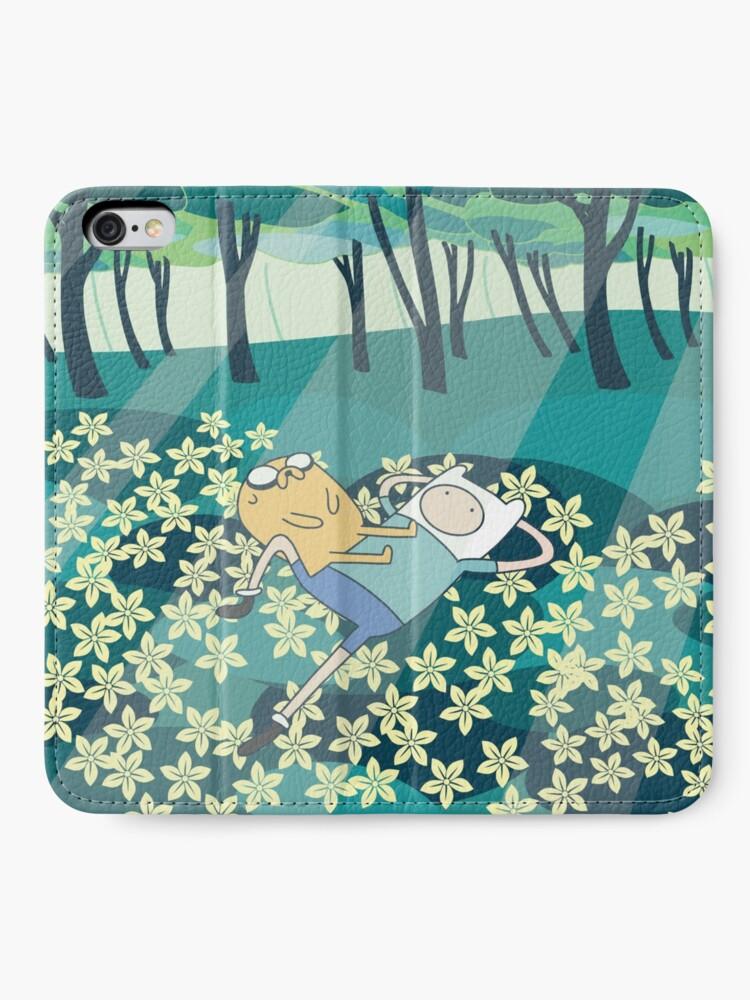 Alternate view of Field of Flowers (Adventure Time) iPhone Wallet
