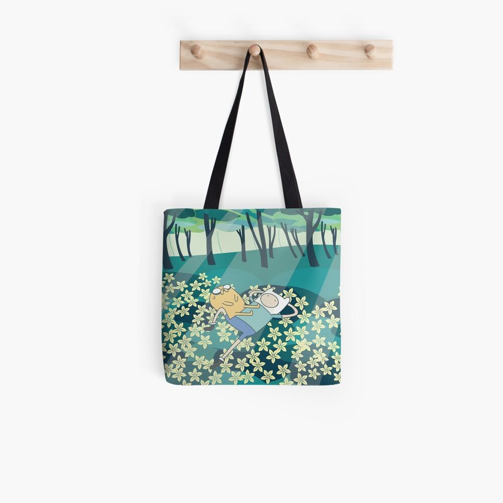 Field of Flowers (Adventure Time) Tote Bag