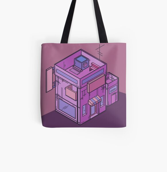 Cube Shop All Over Print Tote Bag