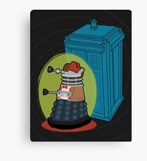 Daleks in Disguise - Eleventh Doctor Canvas Print