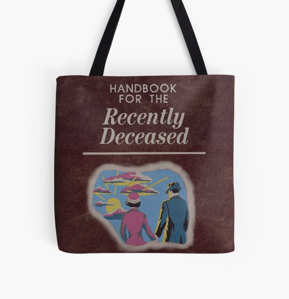 Beetlejuice Handbook For The Recently Deceased  All Over Print Tote Bag
