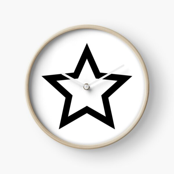 #Star #Symbol  #Sign Clock
