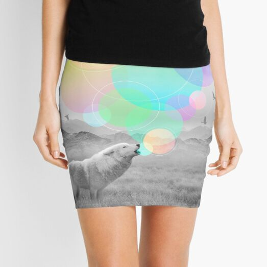 The Echoes of Silence Mini Skirt