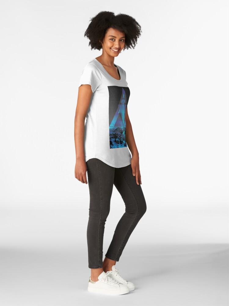 Alternative Ansicht von Weder echt noch imaginär Premium Rundhals-Shirt