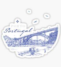 Dom Luis - Porto, Portugal City View Sticker