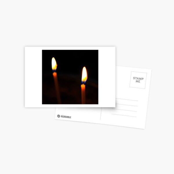 Candle Light Postcard