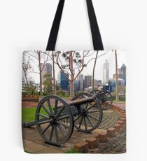 Protecting the City Tote Bag