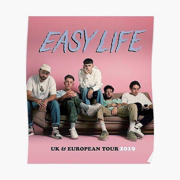 Slasaha Easy Life habits UK & European Tour 2019 Poster