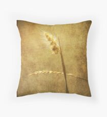 Sighing of Changes ... (Summer Grasses IV) Throw Pillow