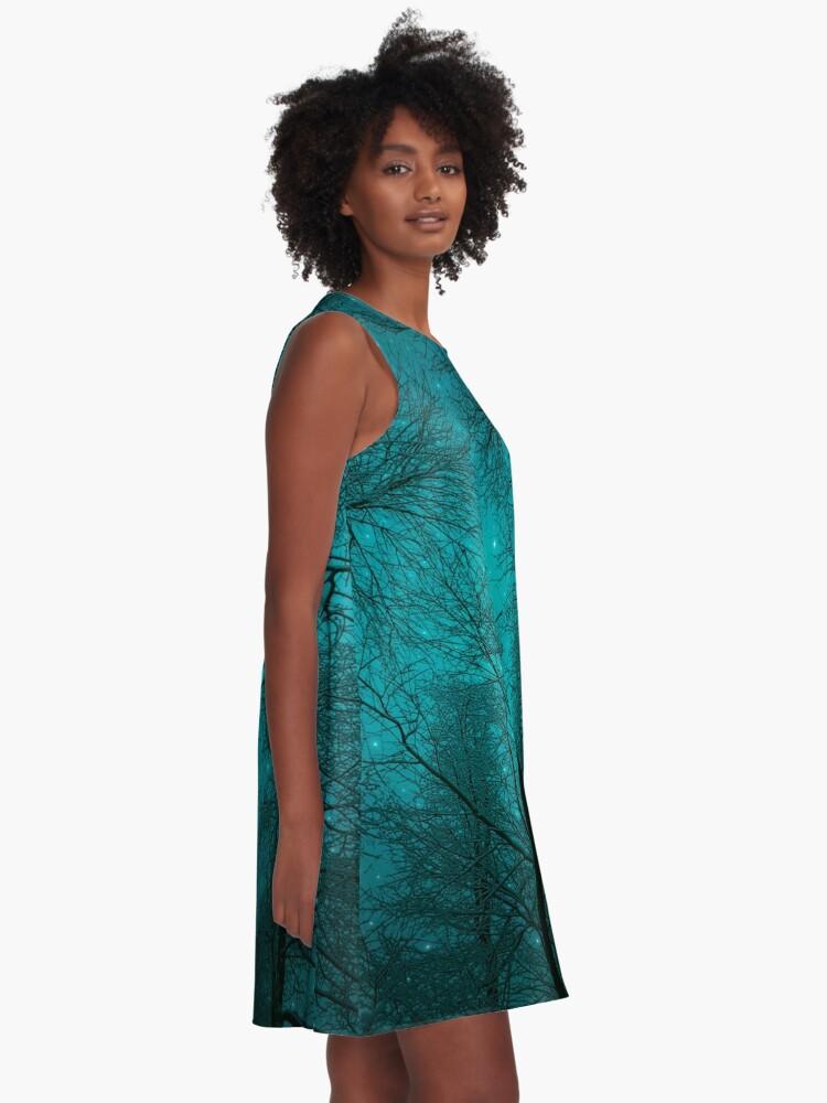 Alternate view of Simply Stare Upward A-Line Dress