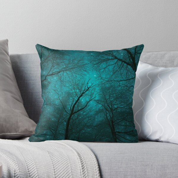 Simply Stare Upward Throw Pillow