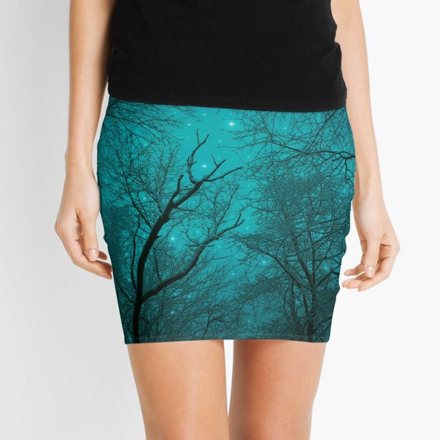 Simply Stare Upward Mini Skirt