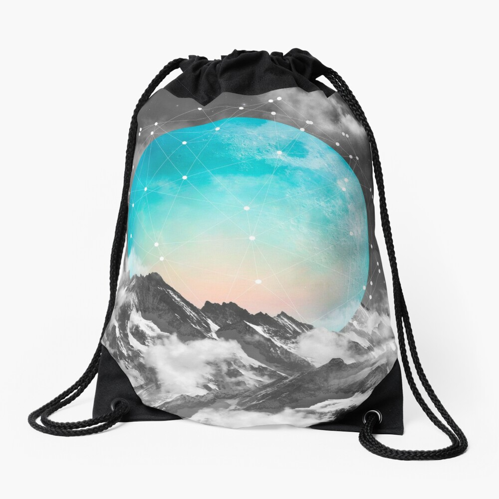 It Seemed To Chase the Darkness Away Drawstring Bag