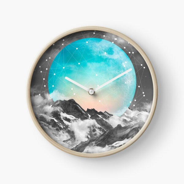 It Seemed To Chase the Darkness Away Clock
