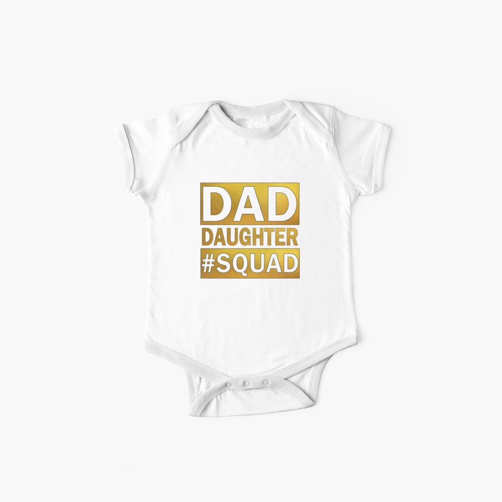 Vater-Tochter-Squad Baby Body