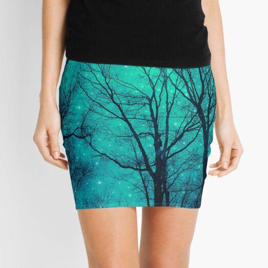 A Certain Darkness Is Needed II Mini Skirt