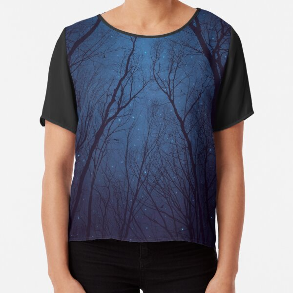 I Have Loved the Stars too Fondly Chiffon Top