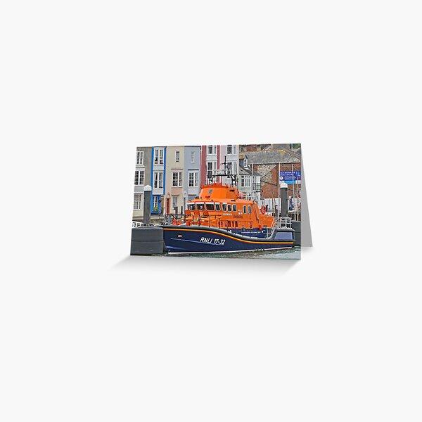 RNLI Boat Greeting Card