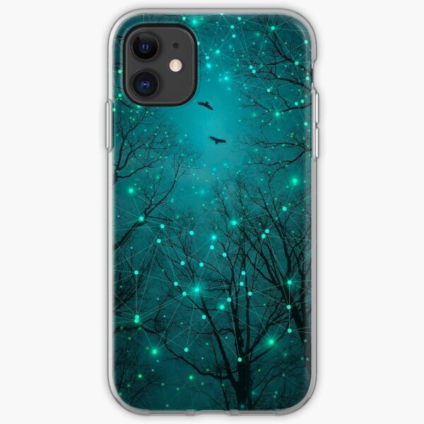 Summer shadows abstract iPhone 11 case