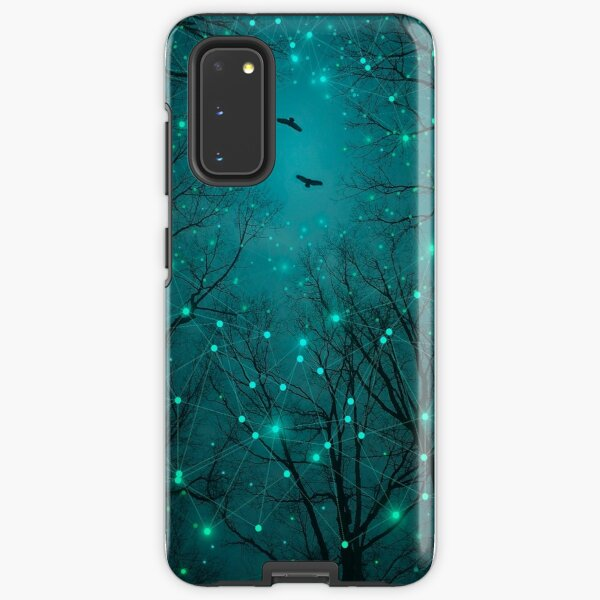 Silently, One by One, the Stars Blossomed Samsung Galaxy Tough Case
