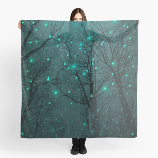 Silently, One by One, the Stars Blossomed Scarf