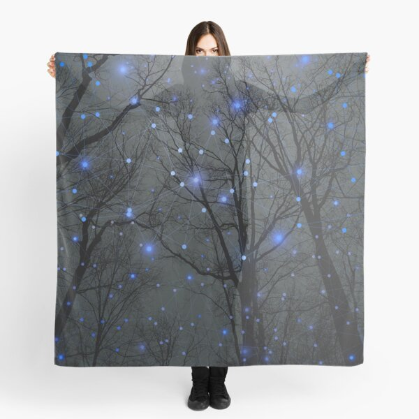 The Sight of the Stars Makes Me Dream Scarf
