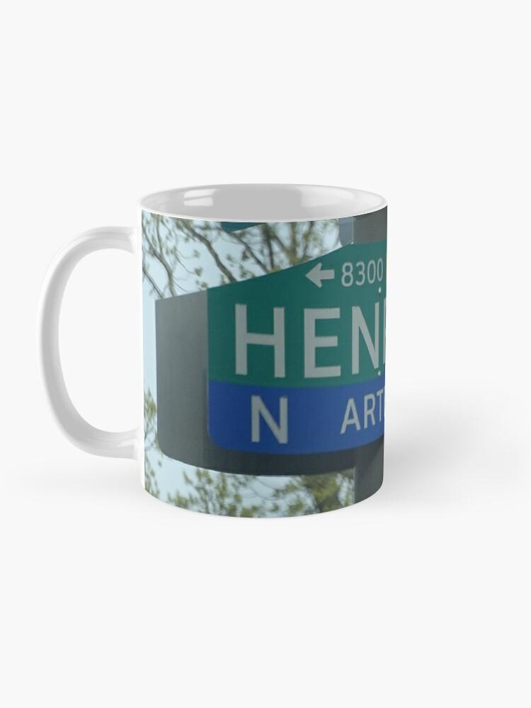 Alternate view of Henry Ave  Mug